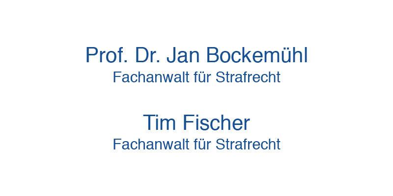 Kanzlei Bockemühl & Fischer