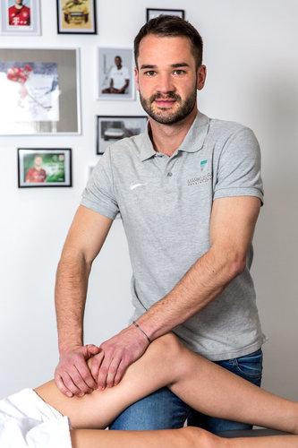Physiotherapeut Markus Frank