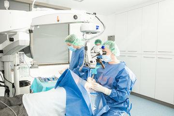 Nie wieder Brille dank refraktiver Linsenchirurgie