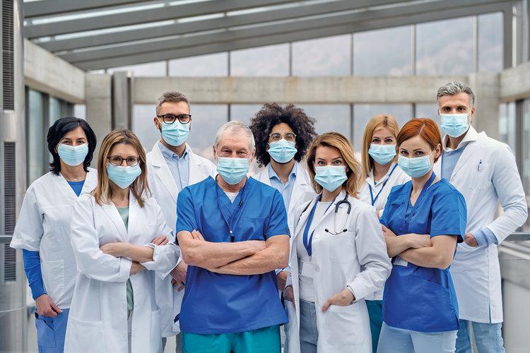 Ärztegesellschaften in der Corona-Pandemie